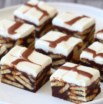 No-Bake Chocolate Biscuit Bars