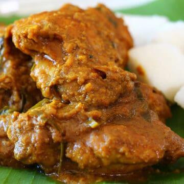 Malaysian Chicken Rendang