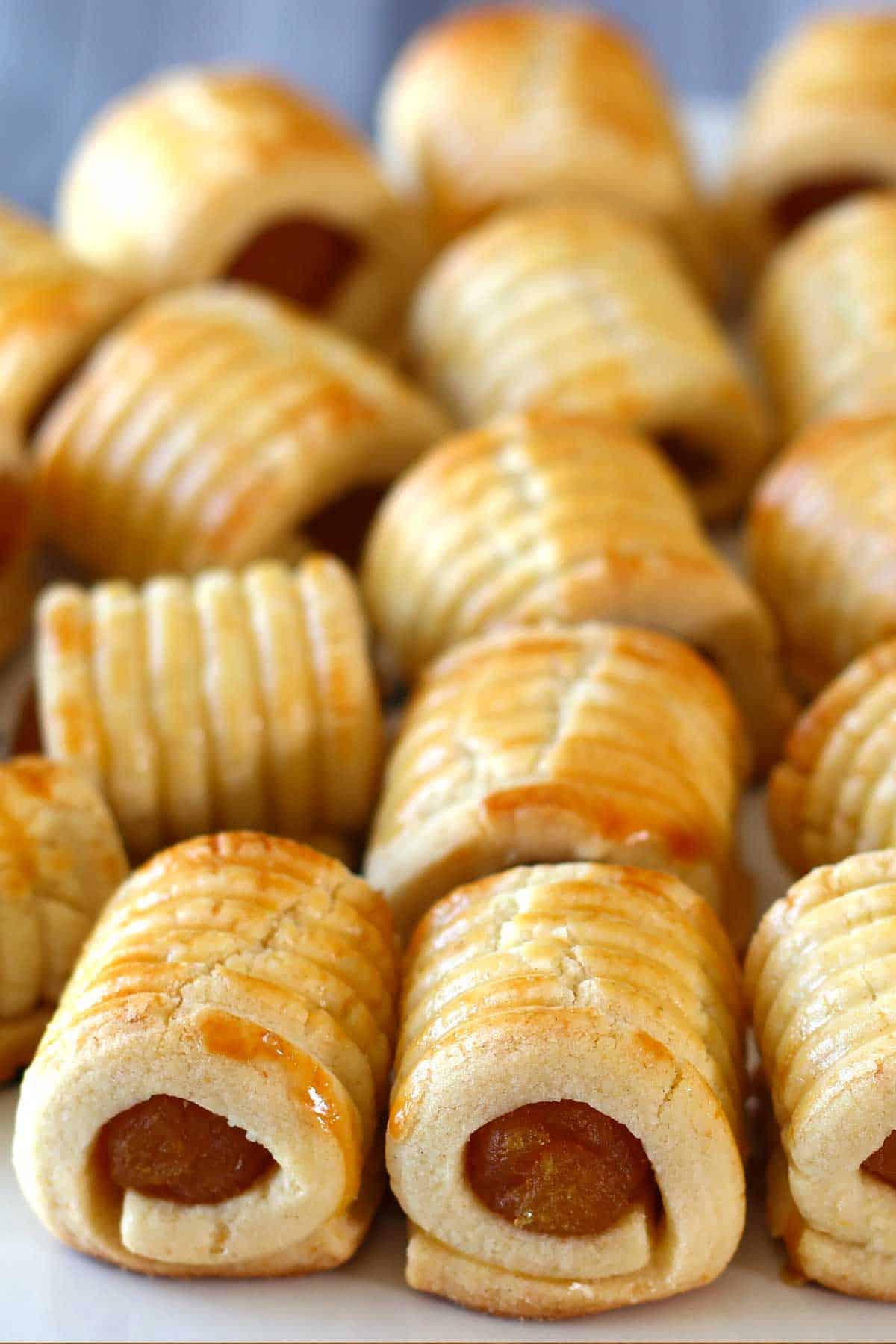 Pineapple tart cookies