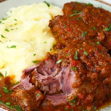 slow cooker Spanish oxtail stew
