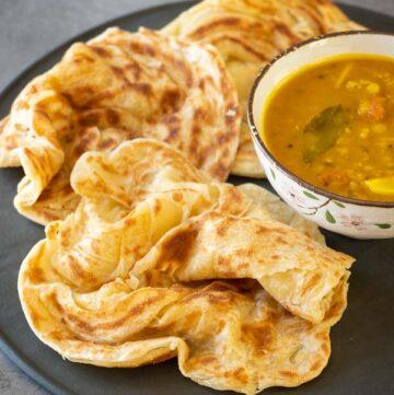 Malaysian Flatbread Roti Canai