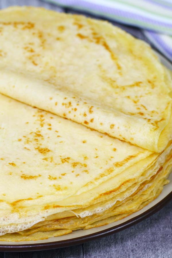 Homemade Crepe Recipe El Mundo Eats