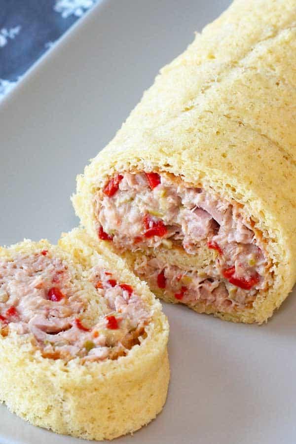 Tuna Roll Cake Pionono