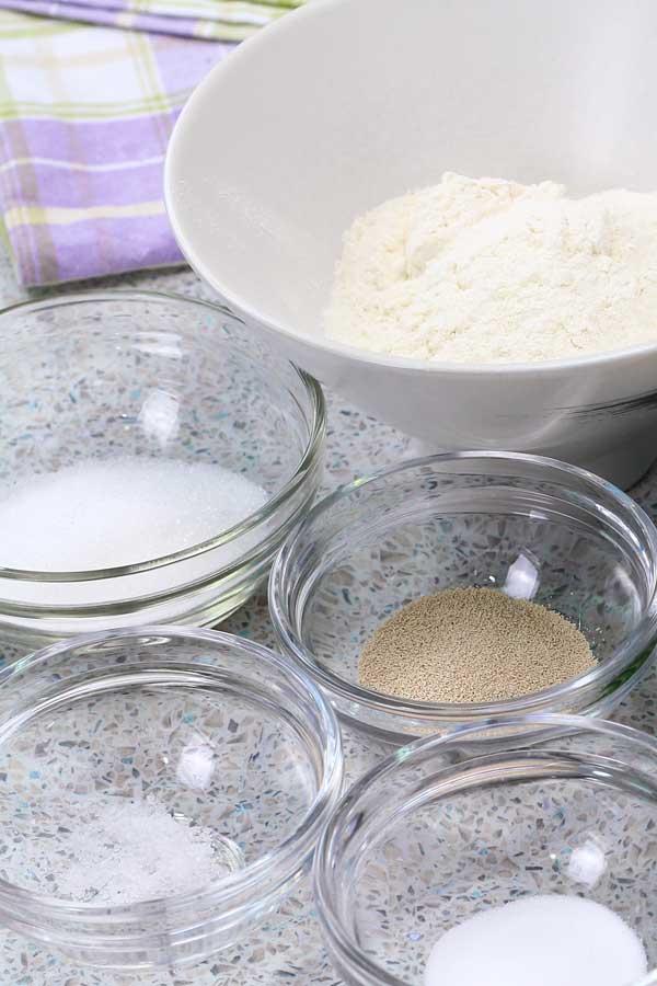 Apam Balik ingredients