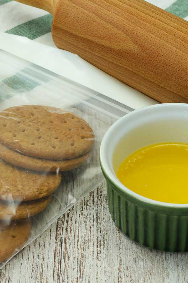 Lemon Cheesecake Base Ingredients