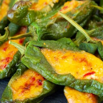 Stuffed Padron Peppers
