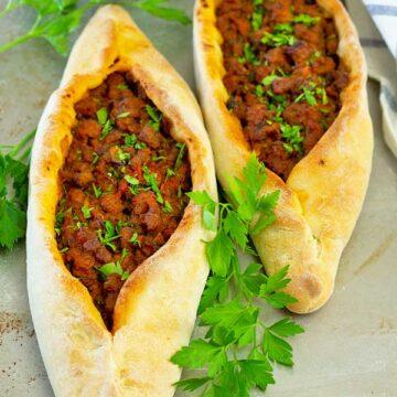 Beef Turkish Pide