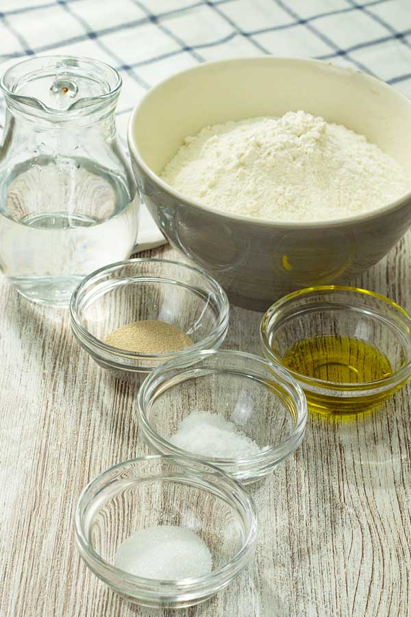 Turkish pide dough ingredients