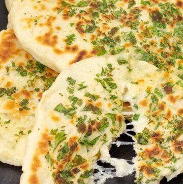 Cheese Stuffed Naan