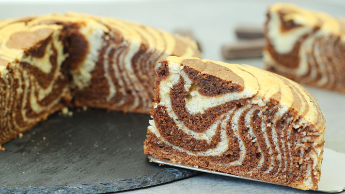 Zebra-Cake