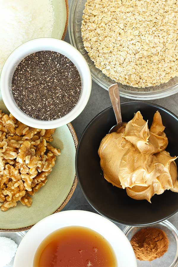 Healthy-No-Bake-Bars-Base-Ingredients