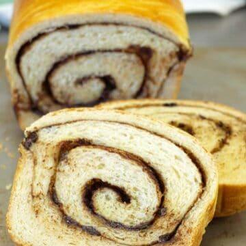 cinnamon chocolate bread