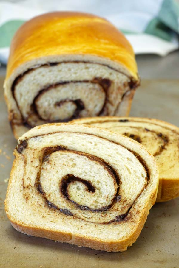 cinnamon chocolate bread