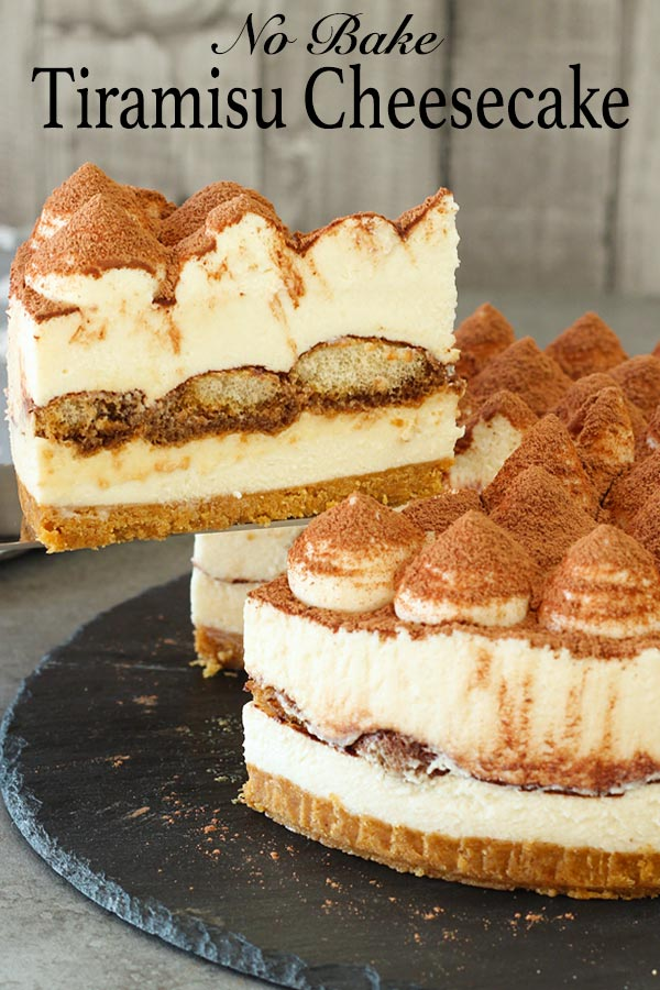 Another version of the world famous tiramisu dessert, this is a no-bake tiramisu cheesecake. Incorporating the essential flavours of a tiramisu, this no-bake cheesecake is easy to prepare.