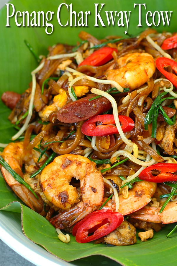 Simplified yet delicious Penang Char Kway Teow! Better than take outs, that's for sure. A very famous meal in my homeland country Malaysia.