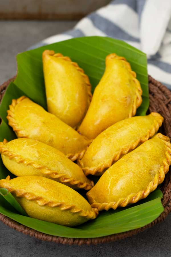 baked chicken curry puff