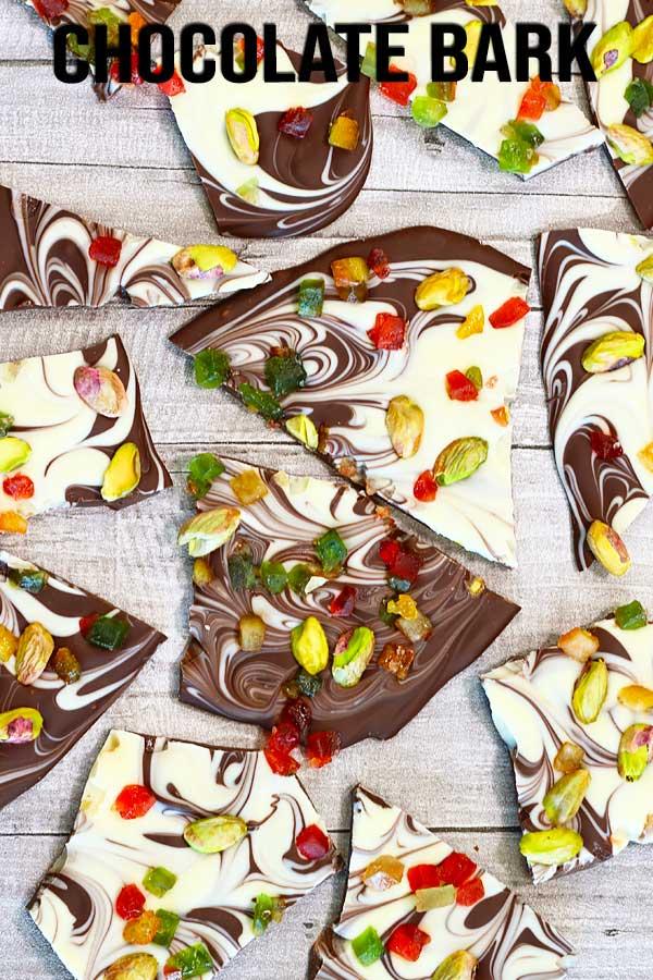 Christmas Chocolate Bark El Mundo Eats