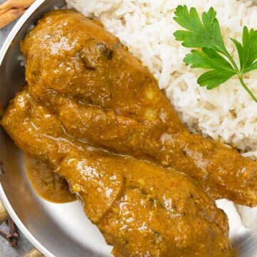 Slow Cooker Chicken Rendang Curry