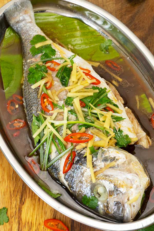 Ginger Steamed Fish