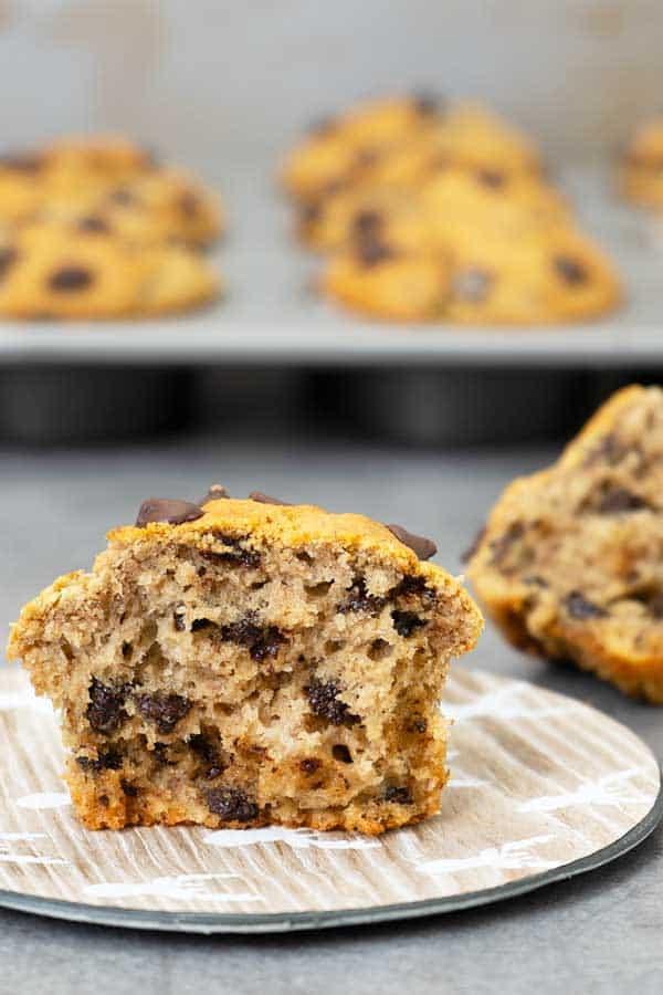 Healthy Oats Banana Muffins