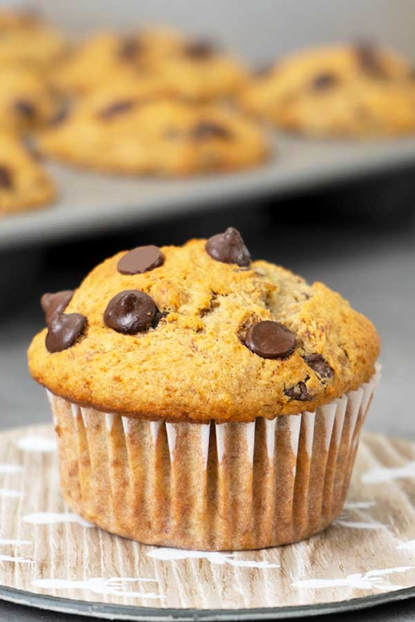 Healthy Oats Banana Muffins