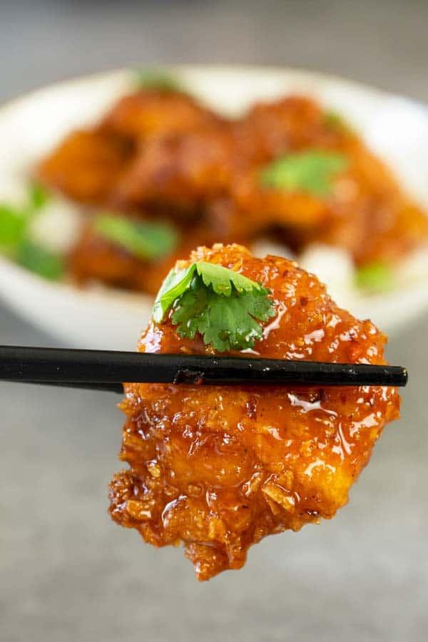 Honey Sriracha Chicken Popper