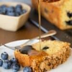 Blueberry Pancake Bread