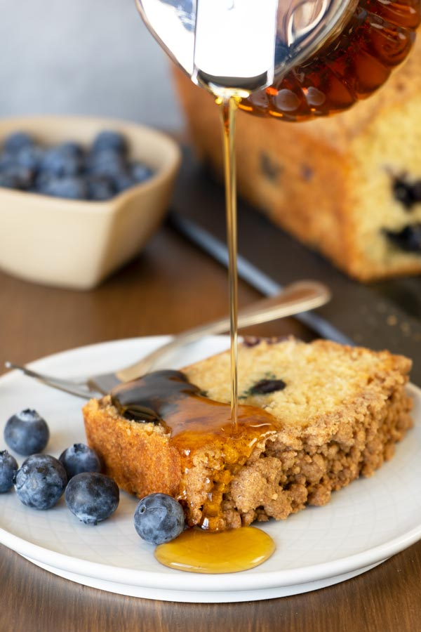 Blueberry Pancake Bread