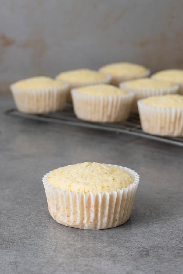 coconut almond cupcakes without frosting