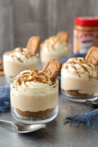 Cookie Butter Cheesecake Shots