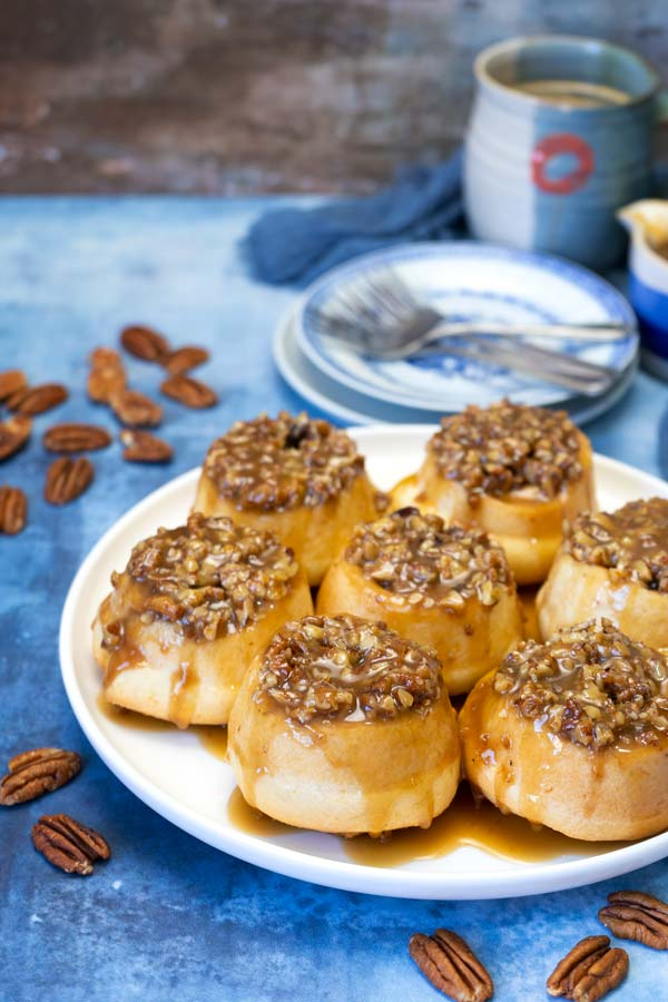 Clementine pecans sticky buns
