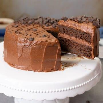 Healthy Zucchini Chocolate Cake