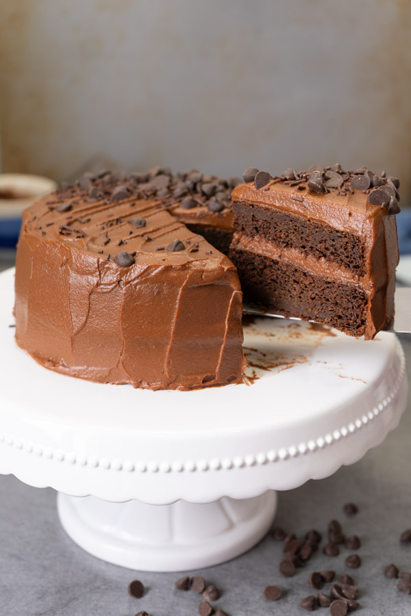 Healthy Zucchini Chocolate Cake