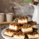 Pecan Cheesecake Bars