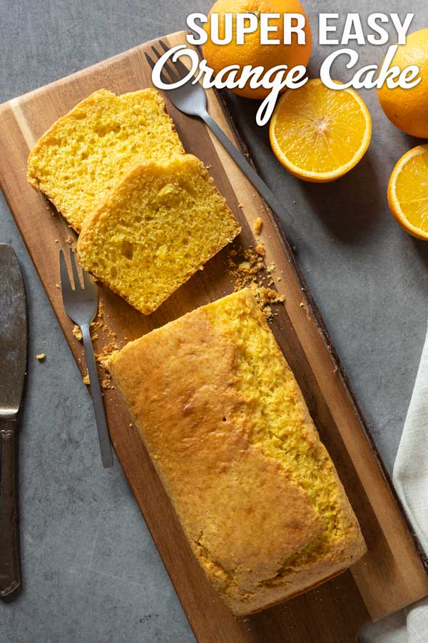 Super easy orange cake recipe, just put all the ingredients in the blender and blend them away, that's how easy this recipe is :) . A very fast recipe to prepare with no time at all. #cake #orangecake #easyrecipe #quickcake #elmundoeats