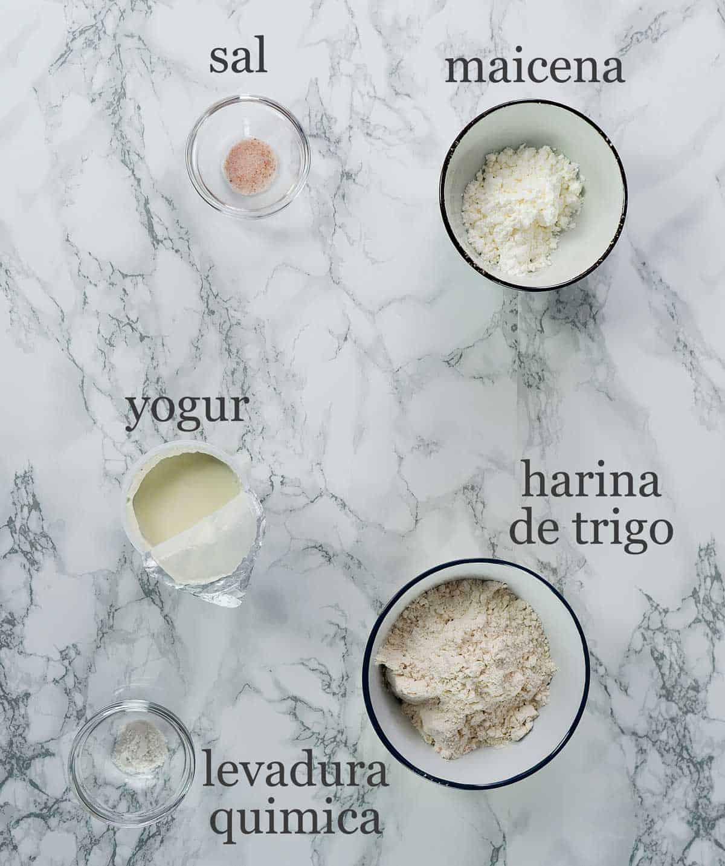 ingredientes masa de baozi sin levadura