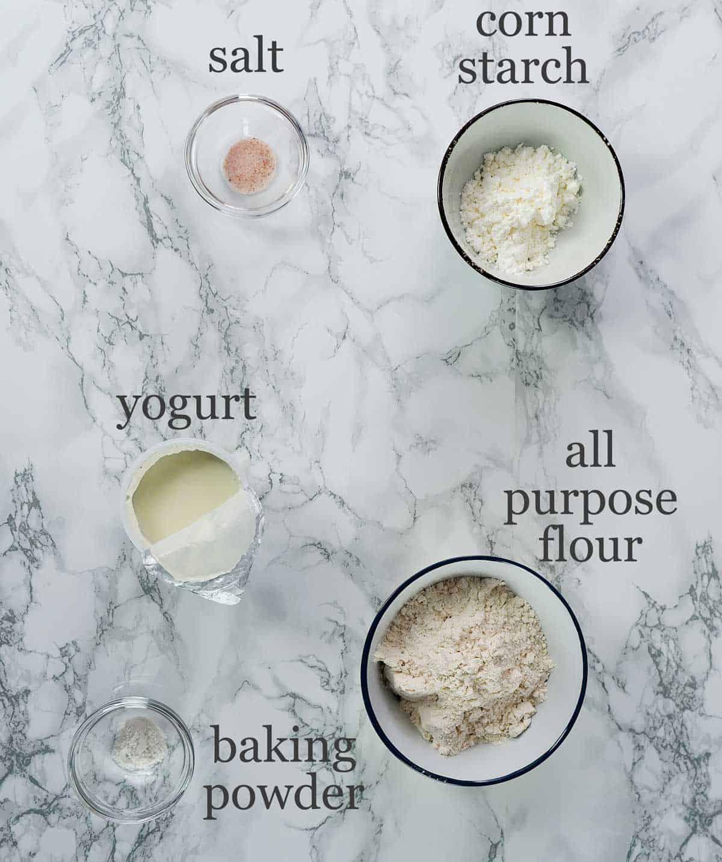 quick baozi dough ingredients