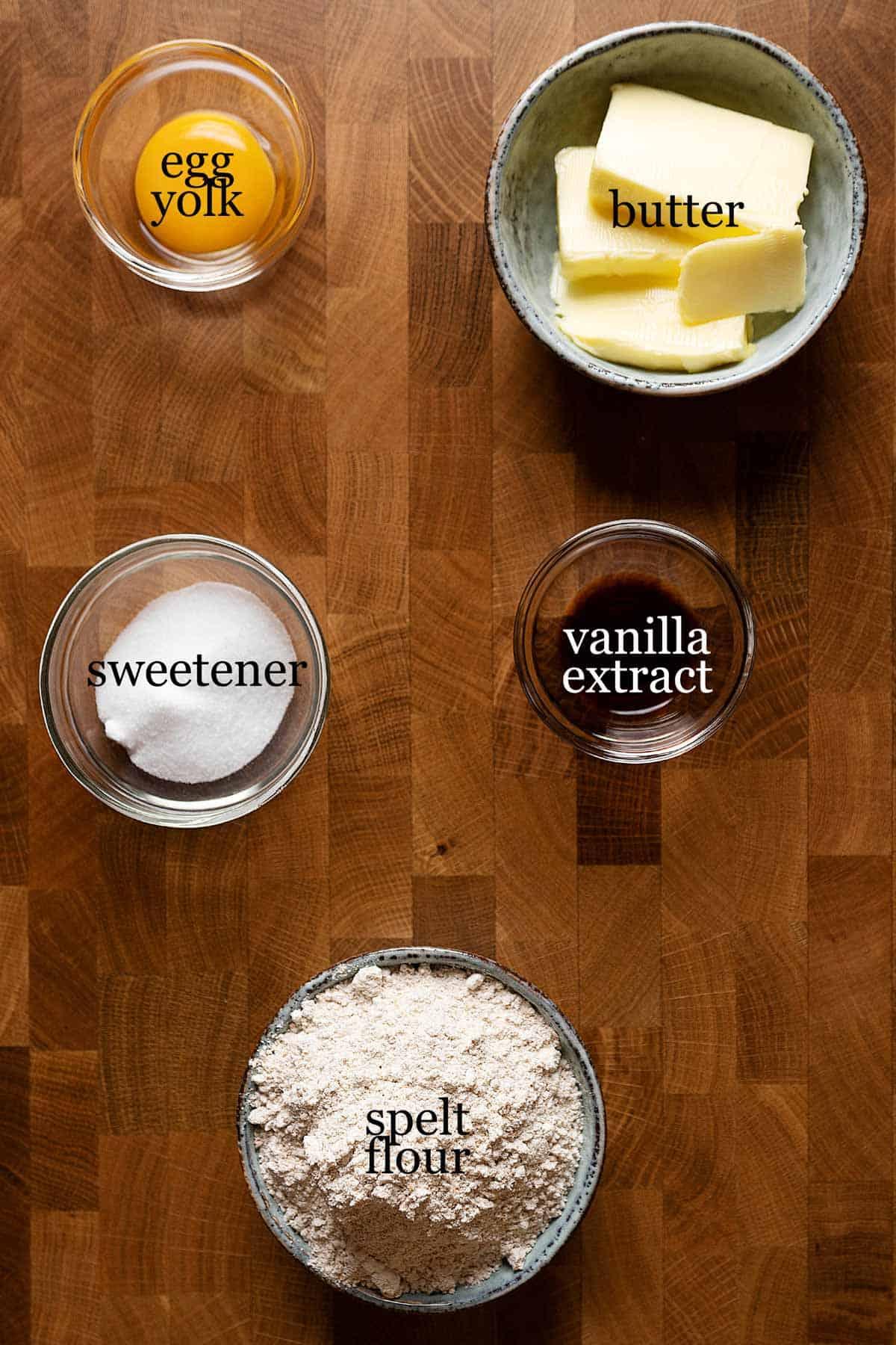 healthy tart shells ingredients.